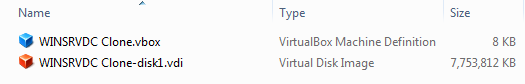 VirtualBox Explorer Directory